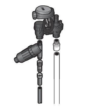 DIG anti-siphon valve installation
