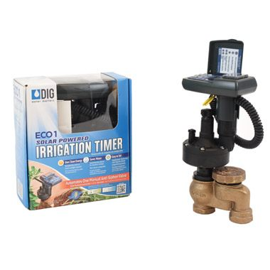 "ECO1™ MVA Single Station Solar Powered Irrigation Controller with 3/4"" Actuator"