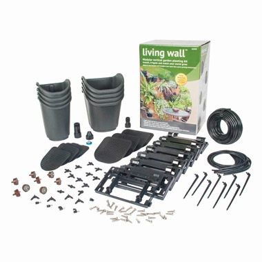GLW08 Living Wall™ modular Vertical Garden kit with 8 Pots