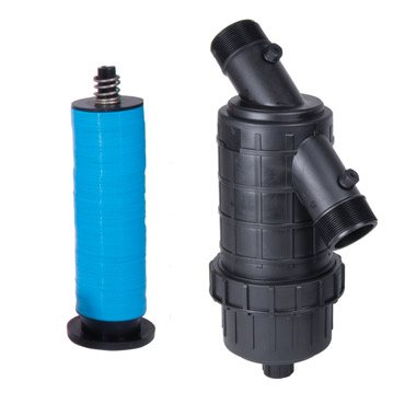 """1 1/2"""" & 2"""" MPT Plastic Filter with Disc Elements"""