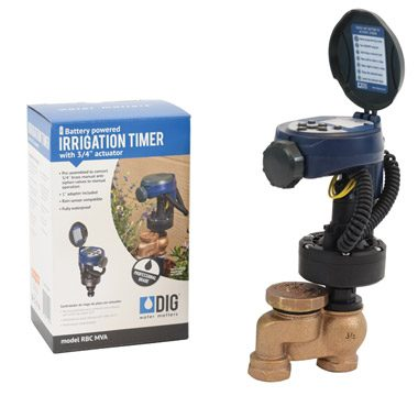 """RBC-MVA Single Station Battery Operated Timer with 3/4"""" Actuator"""