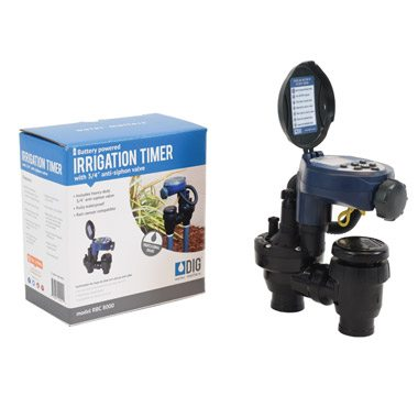 """RBC-8000 Single Station Battery Operated Timer with 3/4"""" Anti-Siphon Valve"""