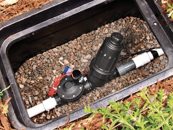 Drip Irrigation Drip Zone Ac Valve With Screen Filter