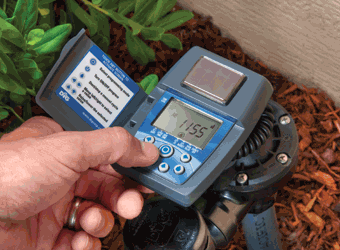 ECO1™ ASV Single Station solar Powered Controller with 3/4″ Anti-Siphon Valve