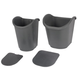 70-009S & 70-010L Small & Large Pots