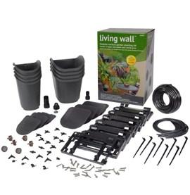 GLW08 Living Wall™ modular Vertical Garden kit with 8 Pots