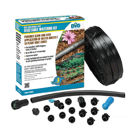 ST100AS Drip & Soaker Tape Vegetable Watering Kit